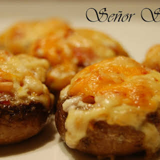 Cheese Stuffed Mushrooms.