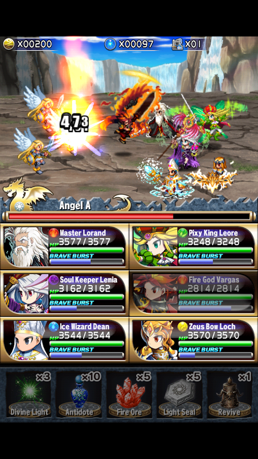 Tải Game Brave Frontier v1.2.2 Hack Full Cho Android