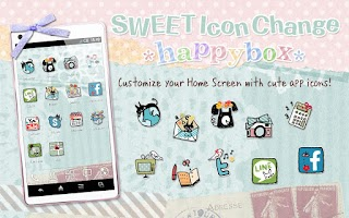 Screenshot of SWEET Icon Change *happybox*