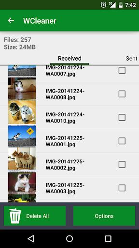 WCleaner for WA (No Ads)  screenshots 2