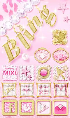 Bling Bam! icon theme - screenshot