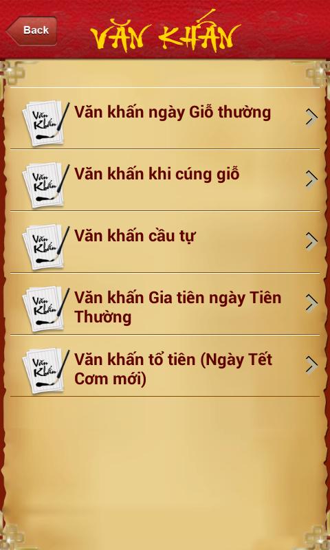 Văn Khấn Cúng giỗ - screenshot