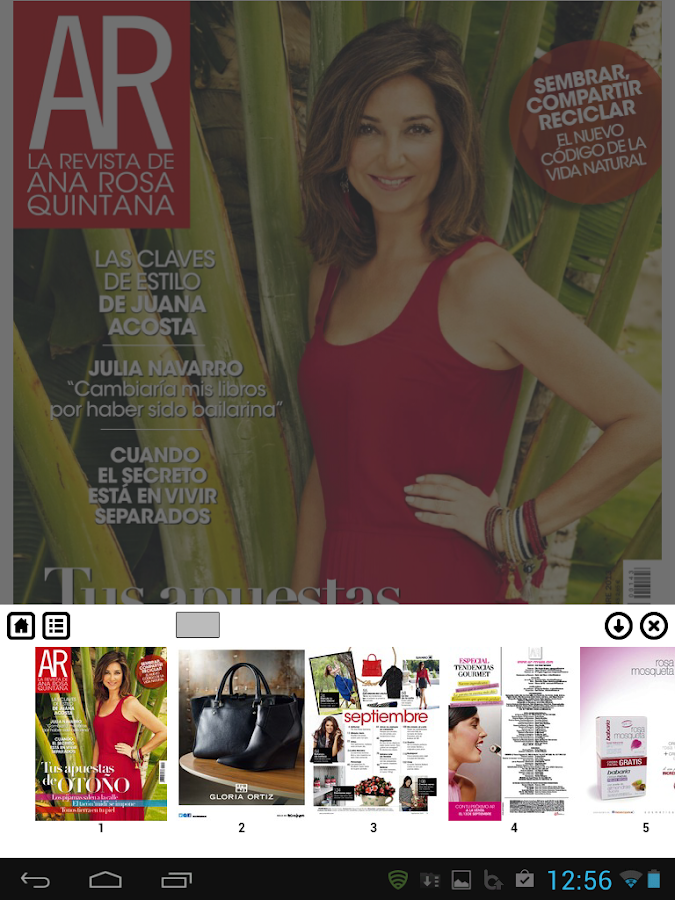 AR Revista - screenshot