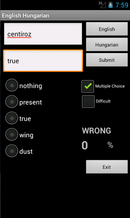 Learn English Hungarian- screenshot