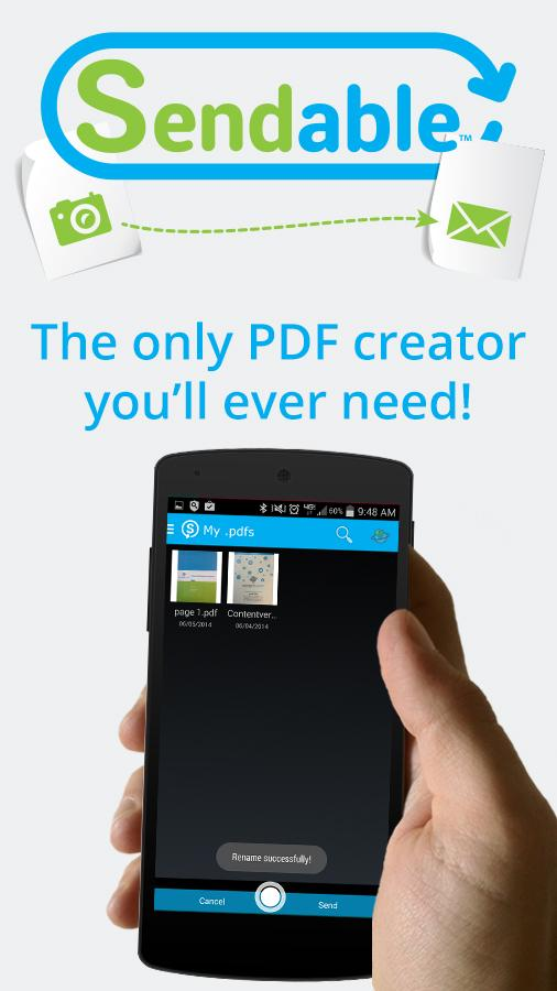 Sendable Picture to PDF - screenshot