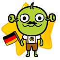 [B]TypingCONy for German logo