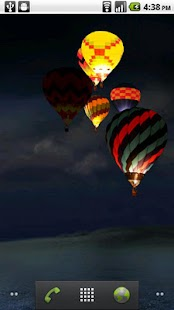 Night Glow Balloons LWP! - screenshot thumbnail