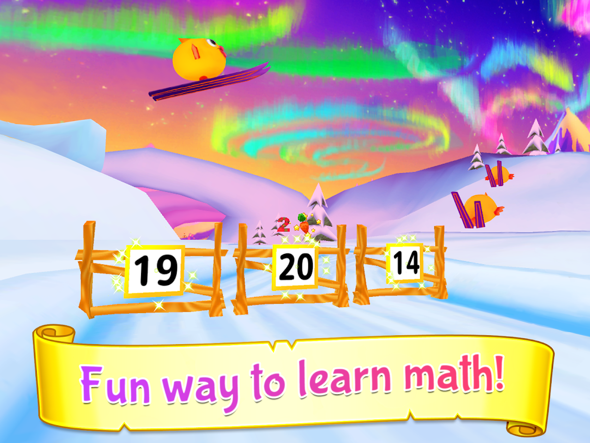 Wonder Bunny Math Race Grade K- screenshot