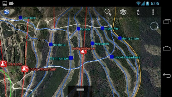 3D Breckenridge Trail Map - screenshot thumbnail