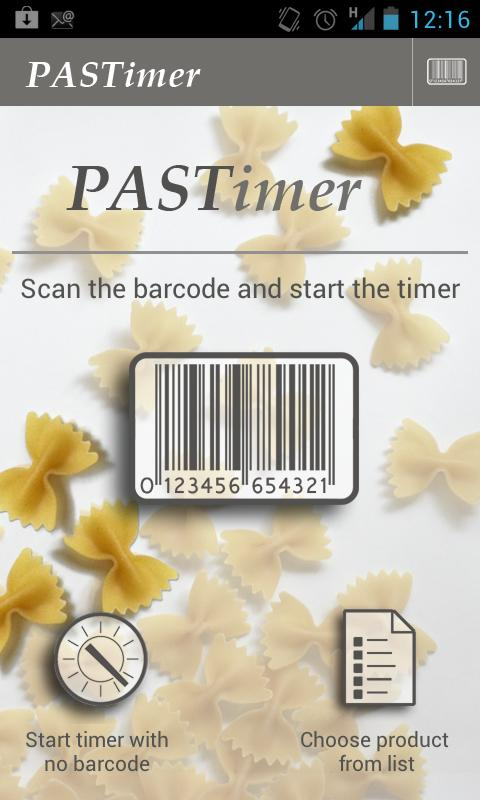 Pastimer - Kitchen Timer Lite- screenshot