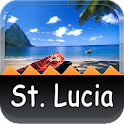 St. Lucia Offline Map Guide icon