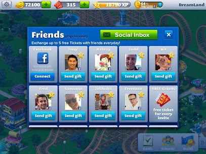 RollerCoaster Tycoon 4 Mobile MOD (Unlimited Money) 9