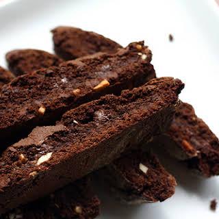 Double Chocolate Almond Biscotti.