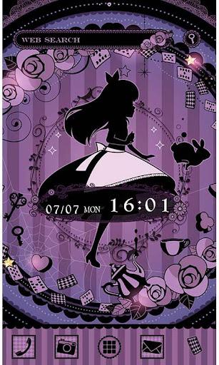 Alice's Nighttime Tea Theme 1.0 Windows u7528 1