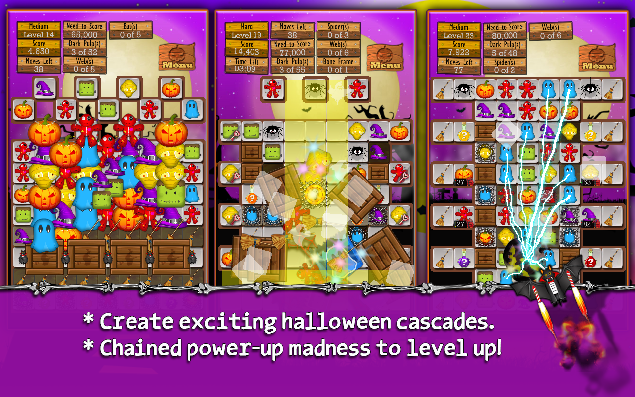 Halloween Drops - Match three- screenshot