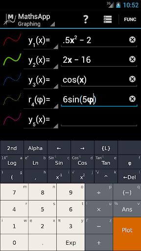 Mathsapp圖形計算器