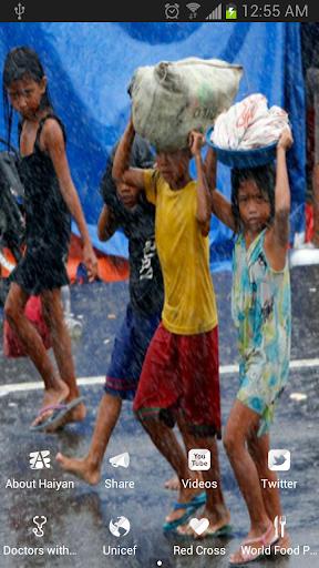 Haiyan Relief App