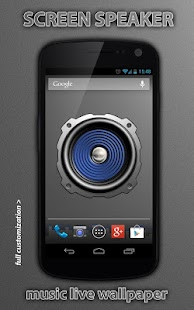 Screen Speaker Music Wallpaper - screenshot thumbnail