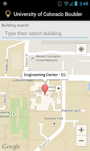 Campus Map for CU Boulder Aplikacije na Google Playu