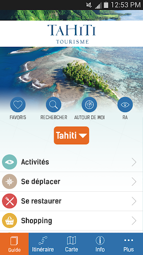 Guide voyage officiel Tahiti