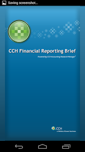 CCH Financial Reporting Brief - screenshot thumbnail