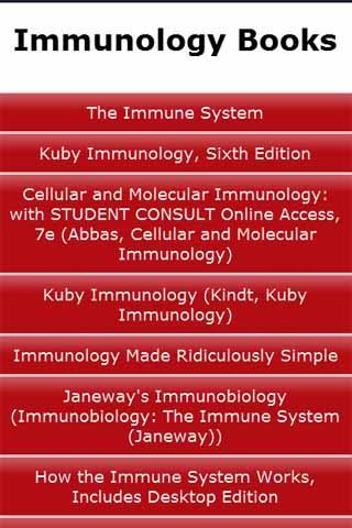 Immunology Books