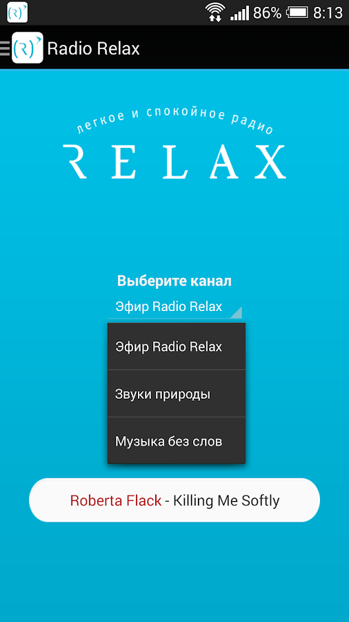 Radio Relax- screenshot