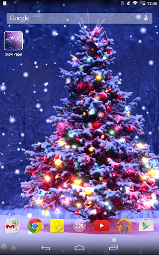 Christmas Live Wallpaper 1.5.4 screenshots 2