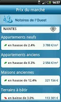 Screenshot of Notaires de L'Ouest +