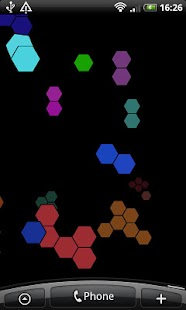 Hexagons Free Live Wallpaper - screenshot thumbnail