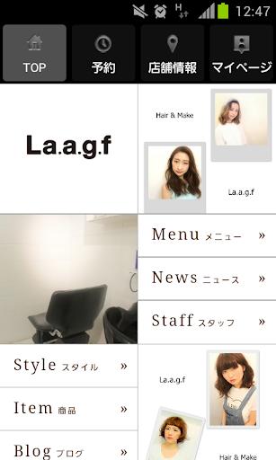 ヘアサロン ラフ 【 La.a.g.f 】 公式アプリ