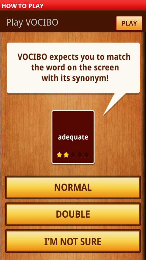 Vocibo- screenshot