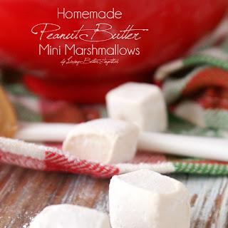 Homemade Peanut Butter Mini Marshmallows