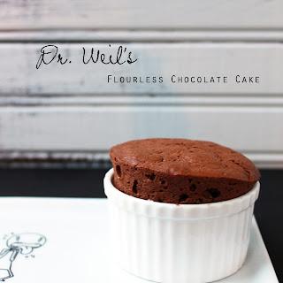 Dr. Weil's Flourless Chocolate Cake