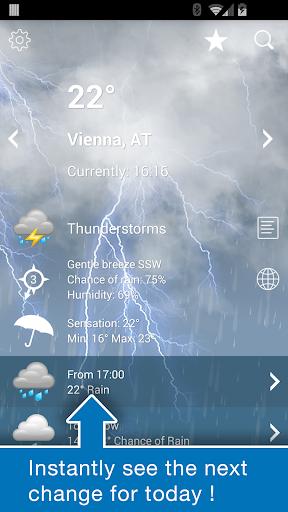 Weather Austria XL PRO  screenshots 2