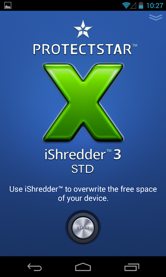 Secure Erase with iShredder 3 - screenshot