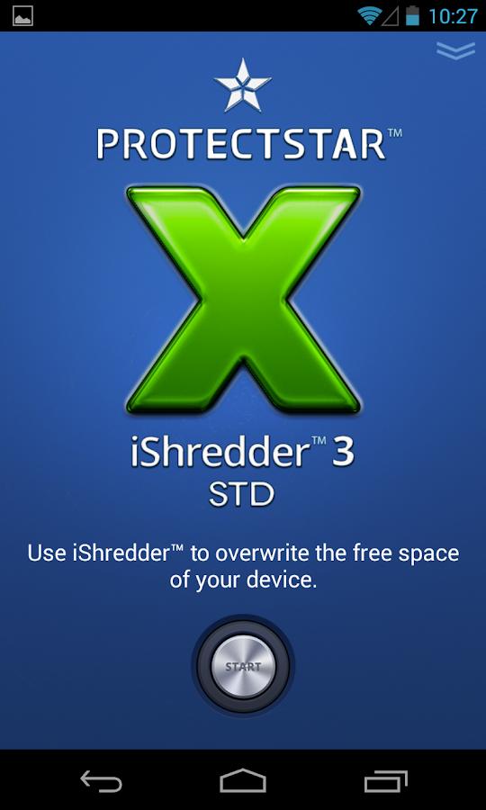 Secure Erase with iShredder 3- screenshot