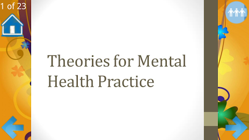 Theories for Mental Health