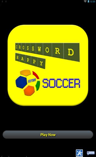 Crossword Happy Soccer