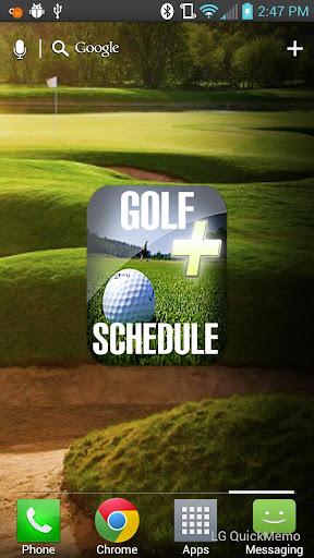 Golf Schedule Plus