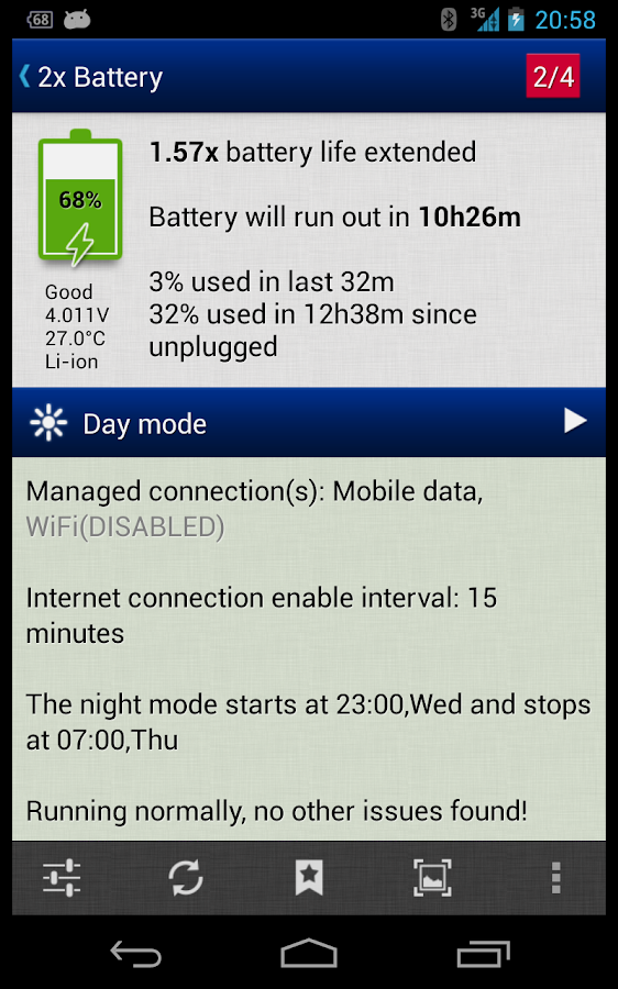 2x Battery Pro - Battery Saver - screenshot