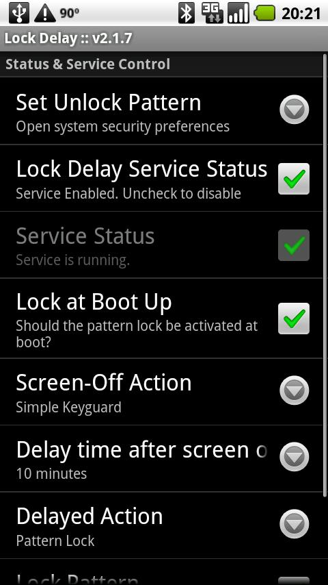 Lock Delay- screenshot