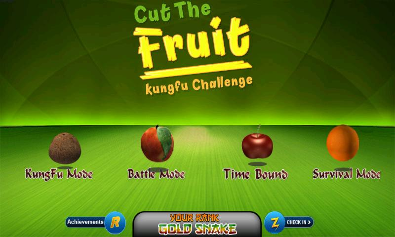 Fruit Kungfu - Kids game - screenshot