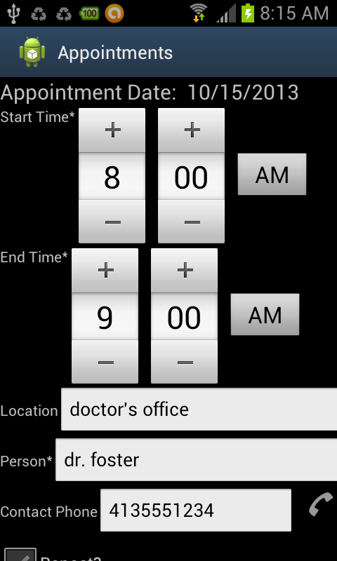 Foster Par. Appointment Assist- screenshot