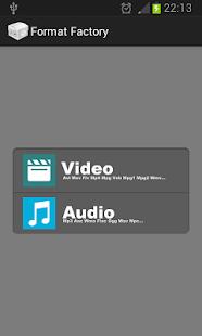 Format Factory - screenshot thumbnail