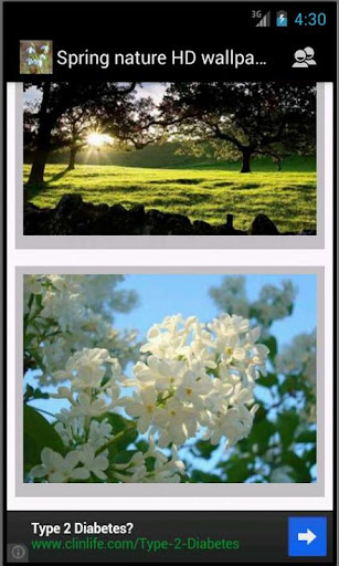 تحميل خلفية Spring nature wallpapers