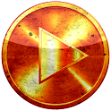 Poweramp skin ГРАНЖ ORANGESUN icon
