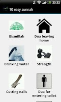 Screenshot of 10 Easy sunnah