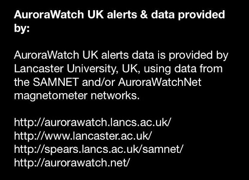AuroraWatch UK for PC