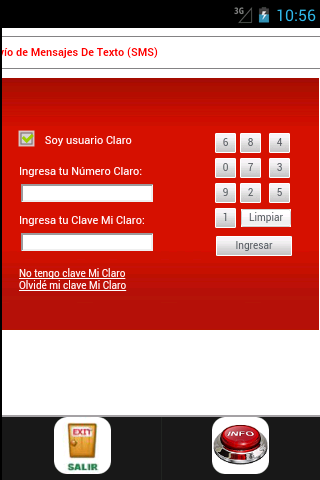 mensajes gratis peru movistar- screenshot